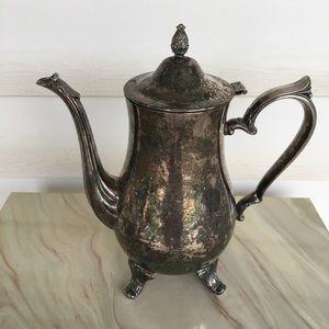 Vintage Silver Plated Tea Pot